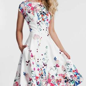 białe sukienki sukienka klara total midi otylia
