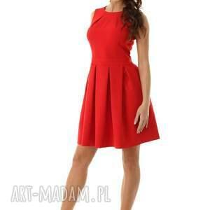 modne sukienki elegancka sukienka kontrafałda kolor