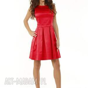 ręczne wykonanie sukienki sukienka kontrafałda kolor