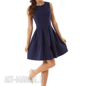 sukienki elegancka sukienka kontrafałda kolor