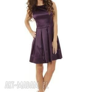 sylwestrowa sukienka sukienki kontrafałda kolor