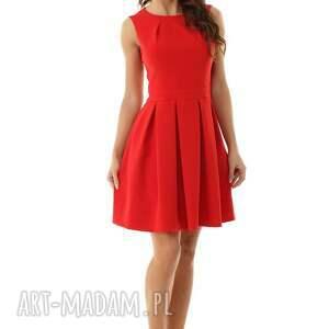 sukienki koktajlowa sukienka kontrafałda kolor