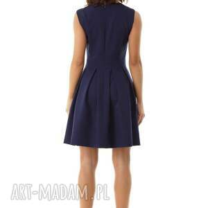 sukienki sukienka kontrafałda kolor