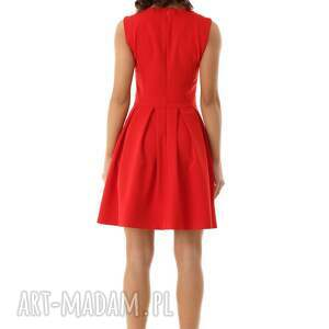 koktajlowa sukienka sukienki rozkloszowana