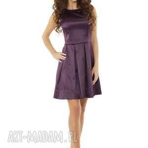 unikatowe sukienki sylwestrowa sukienka kontrafałda kolor