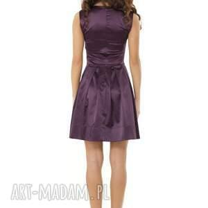 sukienki sylwestrowa sukienka kontrafałda kolor