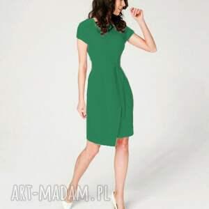 gustowne sukienki sukienka-kopertowa sukienka koperowa silena