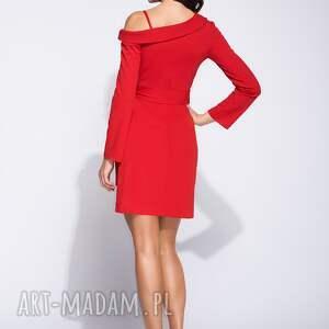 sukienki kopertowa sukienka mini z długim
