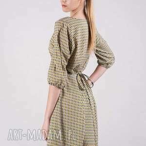 sukienki bluzki sukienka kopertowa - czuję się