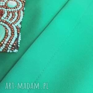 sukienka-do-pracy sukienki sukienka kopertowa silena turkusowa