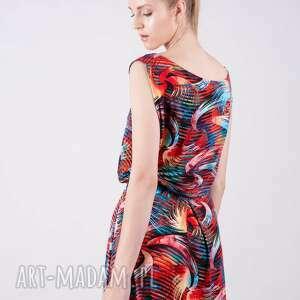 intrygujące sukienki bluzki sukienka kopertowa długa