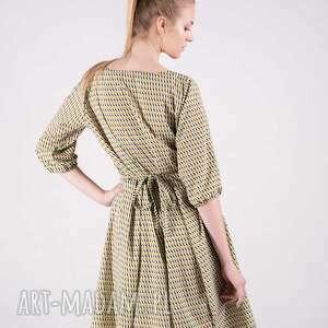 bluzki sukienki sukienka kopertowa - czuję się