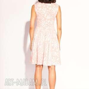 pudrowa sukienki sukienka korina