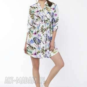 sukienki wzór sukienka koszulowa, suk162