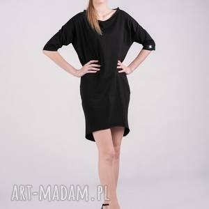 niekonwencjonalne sukienki sukienka kristal w kolorze czerni