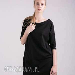 TrzyForU sukienki: Sukienka Kristal w kolorze Czerni - dres