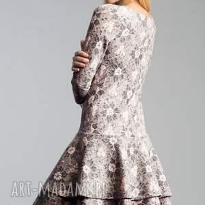 sukienki falbana sukienka lady midi shanon