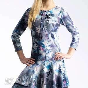 modne sukienki kokardka sukienka lady midi camillia