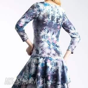 kokardka sukienki sukienka lady midi camillia