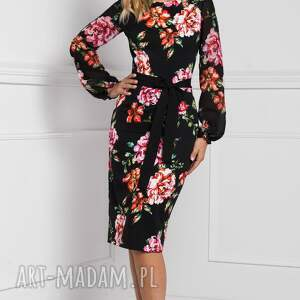 sukienki dopasowana sukienka lidia midi afrodyta