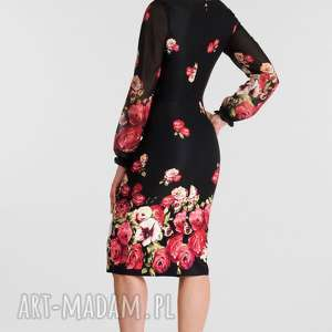 Livia Clue sukienki: sukienka lidia midi izabella - dopasowana jesienna