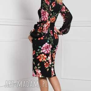 czarne sukienki sukienka midi lidia afrodyta
