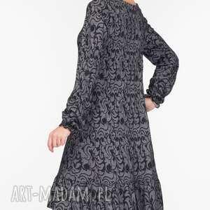 trapezowa sukienki sukienka lina mini felicja