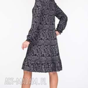 sukienka sukienki szare lina mini felicja