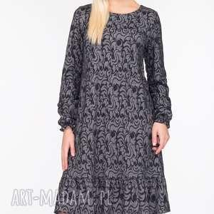 handmade sukienki trapezowa sukienka lina mini felicja