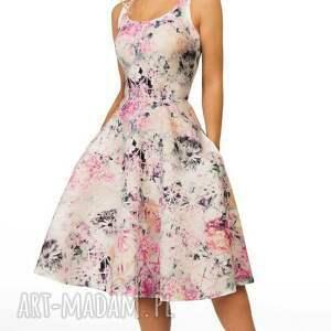 gustowne sukienki kieszenie sukienka liza midi lavinia róż