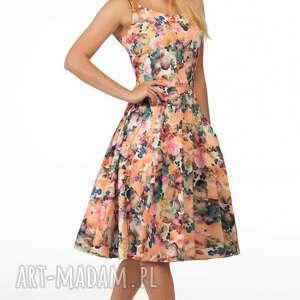 ramiączka sukienki sukienka liza midi celine