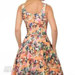 sukienki ramiączka sukienka liza midi celine