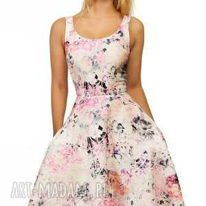 kieszenie sukienki różowe sukienka liza midi lavinia róż