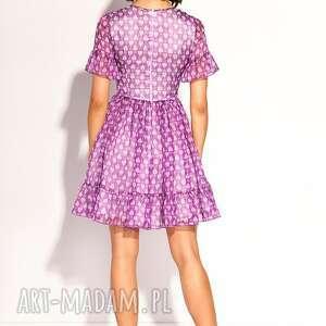 jedwabna sukienki sukienka lola