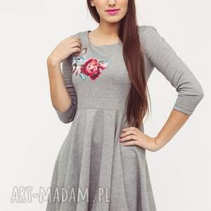 sukienki modna sukienka love dress floral 09 r