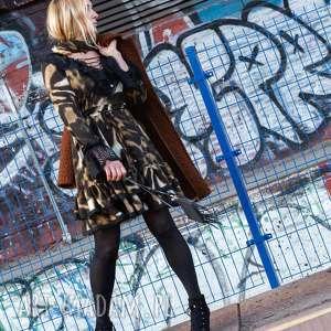 sukienki panterka sukienka lucretia - motyw