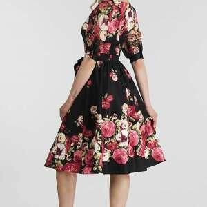 trendy sukienki sukienka luiza midi izabella