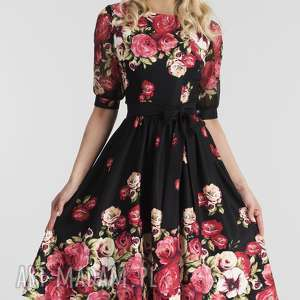 czarne sukienki sukienka luiza midi izabella