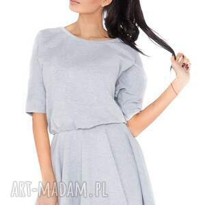 trendy sukienki sukienka m_2 jasnoszary