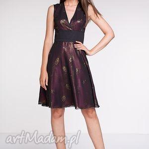 ręczne wykonanie sukienki moda sukienka magie