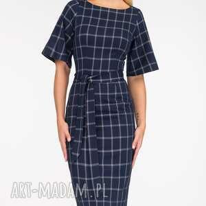 unikatowe sukienki wiązanka sukienka maja midi gemma