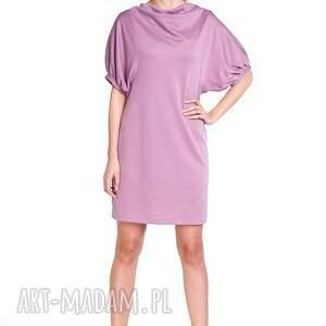 oryginalne sukienki moda sukienka marcela - róż antyczny