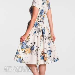unikatowe sukienki sukienka marie midi gardenia