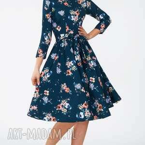 sukienki kratka sukienka marie 3/4 midi berenika