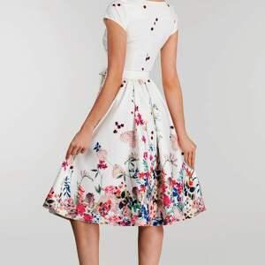 białe sukienki sukienka marie midi otylia (góra w