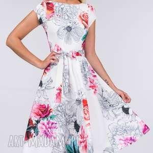 białe sukienki sukienka midi marie delicja