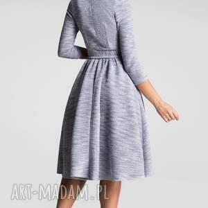 unikatowe sukienki sukienka midi marie 3/4 nikola