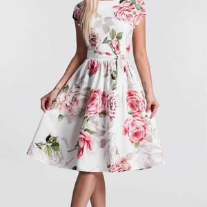hand-made sukienki midi sukienka marie rosanna