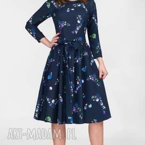 niebanalne sukienki midi sukienka marie 3/4 penelopa