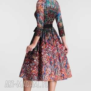 trendy sukienki sukienka na wesele marie 3/4 midi
